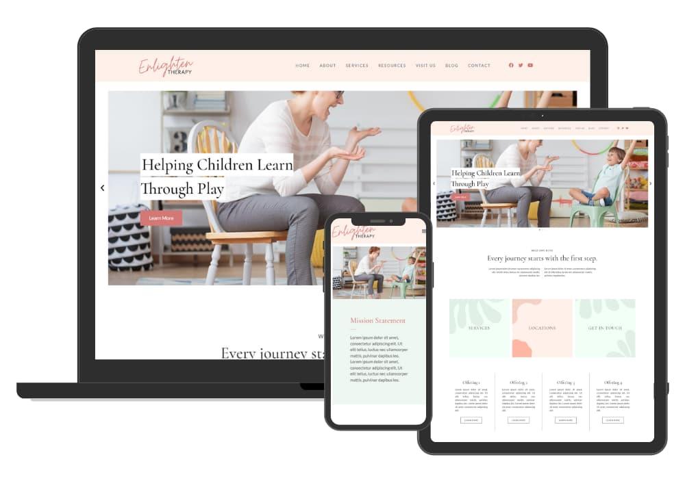 Site Culture Enlighten Website