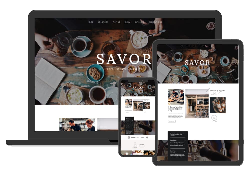 Site Culture Savor Website