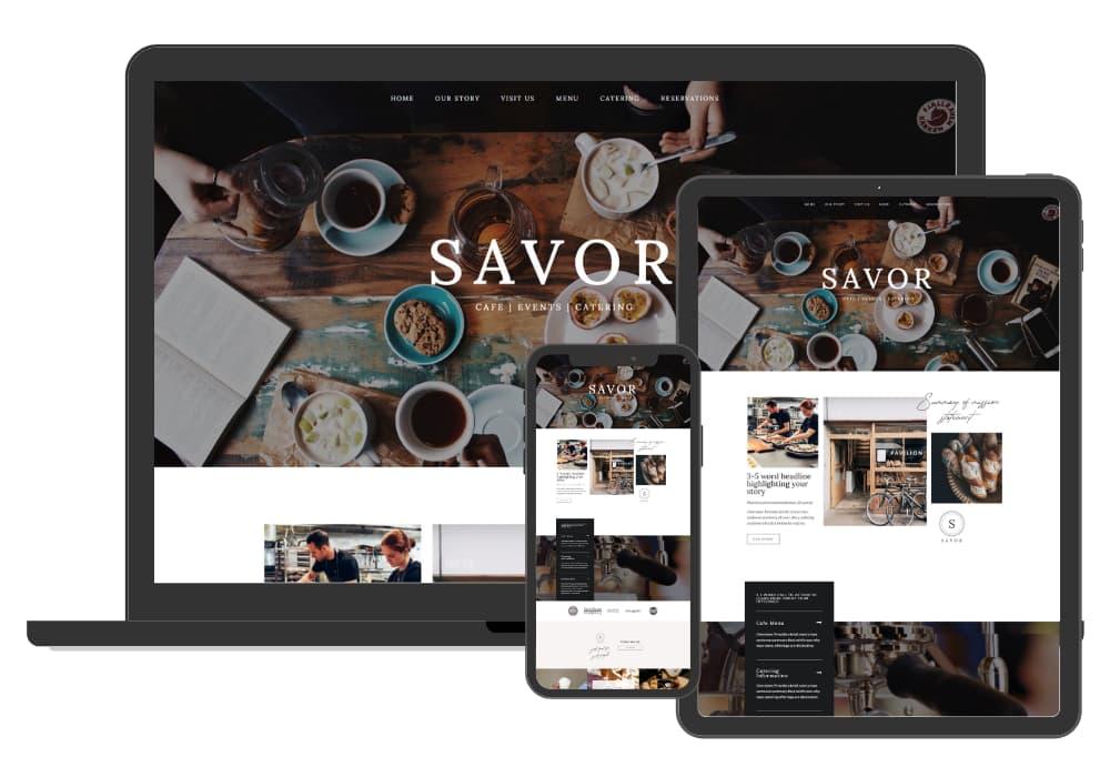 Site Culture Savor Website
