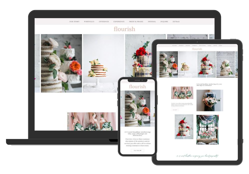Site Culture Flourish Website